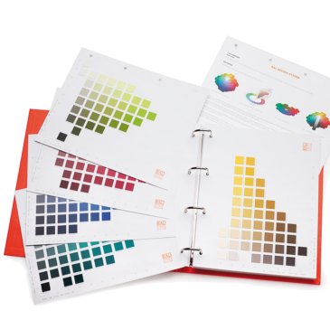 RAL D4  Colour atlas containing all 1,625 RAL DESIGN colours